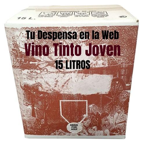 Caja de Vino Bag in Box 15 Litros