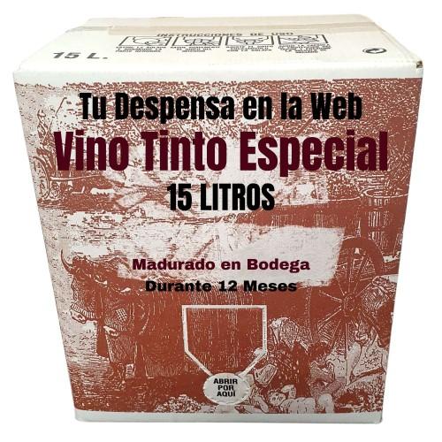 Bag in Box vino tinto Especial 15lts