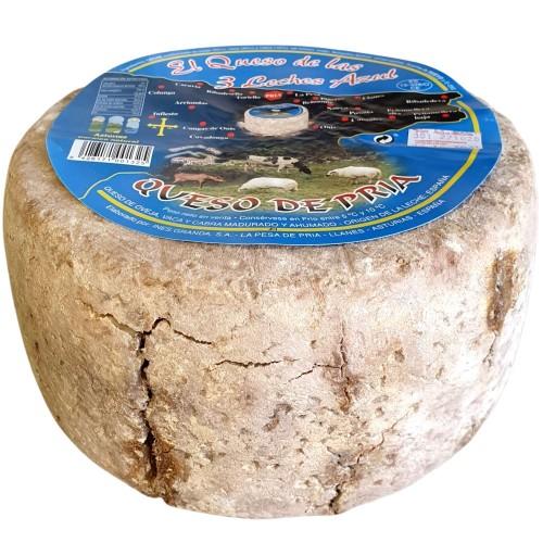Queso Azul de Pria Tres Leches - Delicioso queso azul