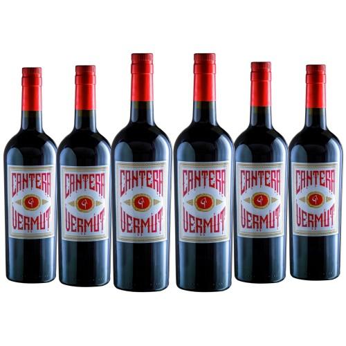 Vermut Cantera Elaborado con uva viura (Lote 6 Botellas)