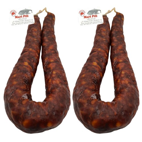Chorizo Riojano Mari Pili - Chorizo Peso Aproximado 280 gramos Unidad