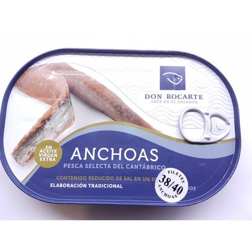 Anchoas Don Bocarte 38/40 (Bajas en Sal)