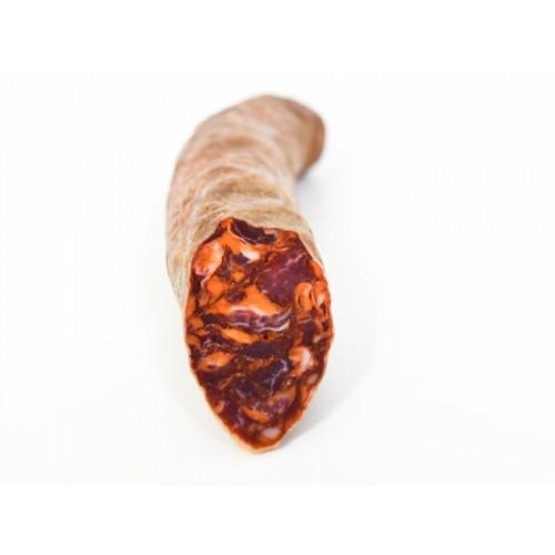 Chorizo Ibérico de Bellota Leoncio - 700 gramos Media Barra