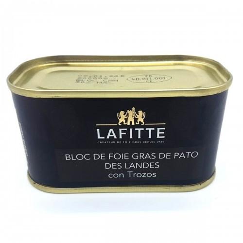 Bloc de Foie Gras de Pato con trozos Lafitte