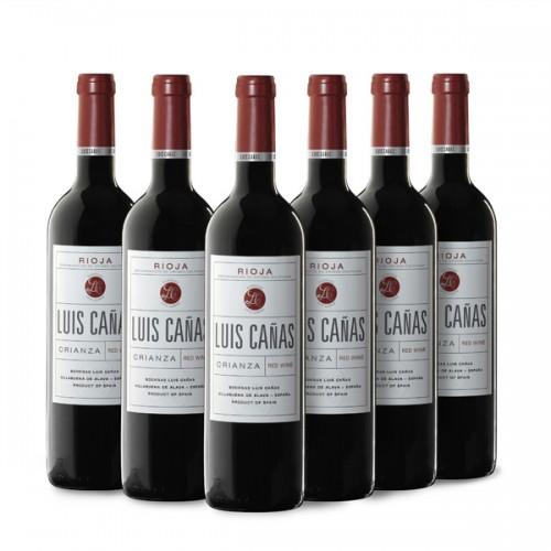 Vino Tinto Rioja Crianza Luis Cañas